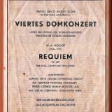 Mozart - REQUIEM - Salzburg festival 27/8/1954 מוצרט -