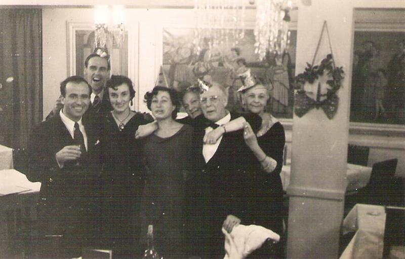 מאיר וג'ין 1950 ליוורפול   Liverpool