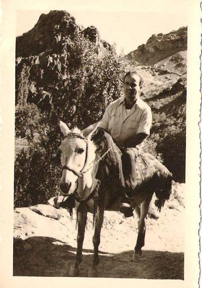 מאיר באיראן, אוגוסט - אוקטובר 1949
