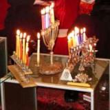 החנוכיה של מאיר בינט בשימוש כל חג חנוכה