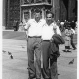 זכי קיני ומאיר במילאנו