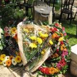"""מאיר בינט - טקס בשבט """"כנען"""" ובבית הקברות בישוב 2008"""
